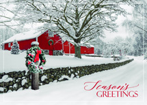 Rustic Ranch Holiday Cards
