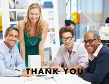 Business Thanks Photo Greeting Card